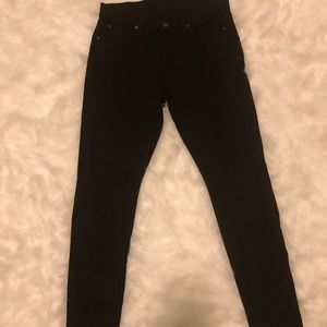 7 for all mankind black Guenevere Jeans